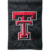 Evergreen Texas Tech Red Raiders Applique Garden Flag