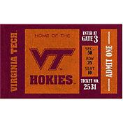 Evergreen Virginia Tech Hokies Turf Mat