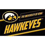 Evergreen Iowa Hawkeyes Coir Punch Mat