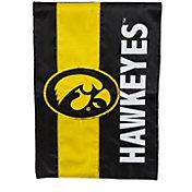 Evergreen Iowa Hawkeyes Embellish Garden Flag