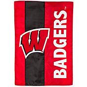 Evergreen Wisconsin Badgers Embellish Garden Flag