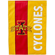 Evergreen Iowa State Cyclones Embellish Garden Flag
