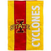 Evergreen Iowa State Cyclones Embellish Garden Flag