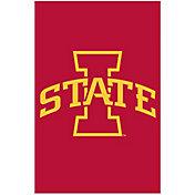 Evergreen Iowa State Cyclones Applique Garden Flag
