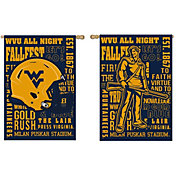 Evergreen West Virginia Mountaineers Fan Rule House Flag