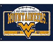 Evergreen West Virginia Mountaineers Linen Estate Flag