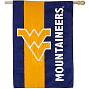 Evergreen West Virginia Mountaineers Embellish House Flag