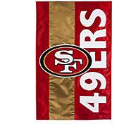 Evergreen San Francisco 49ers Embellish House Flag