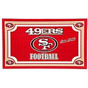 Evergreen San Francisco 49ers Embossed Door Mat