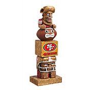 Evergreen San Francisco 49ers Tiki Totem
