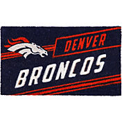 Evergreen Denver Broncos Coir Punch Mat