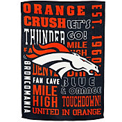 Evergreen Denver Broncos Fan Rule House Flag
