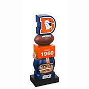 Evergreen Denver Broncos Vintage Tiki Totem