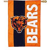 Evergreen Chicago Bears Embellish House Flag