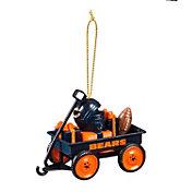 Evergreen Enterprises Chicago Bears Team Wagon Ornament