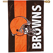 Evergreen Cleveland Browns Embellish House Flag