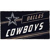 Evergreen Dallas Cowboys Coir Punch Mat