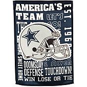 Evergreen Dallas Cowboys Fan Rule Garden Flag