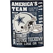 Evergreen Dallas Cowboys Fan Rule House Flag