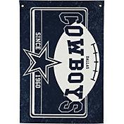 Evergreen Dallas Cowboys Linen Estate Flag