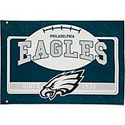Evergreen Philadelphia Eagles Linen Estate Flag