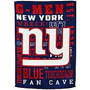 Evergreen New York Giants Fan Rule Garden Flag