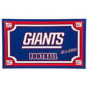Evergreen New York Giants Embossed Door Mat