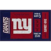 Evergreen New York Giants Turf Mat