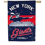 Evergreen New York Giants Vintage House Flag