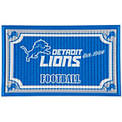 Evergreen Detroit Lions Embossed Door Mat