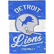 Evergreen Detroit Lions Vintage Garden Flag