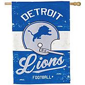 Evergreen Detroit Lions Vintage House Flag