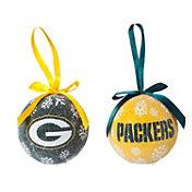Evergreen Enterprises Green Bay Packers LED Ornament Set