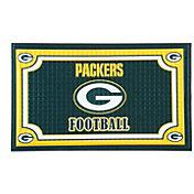 Evergreen Green Bay Packers Embossed Door Mat