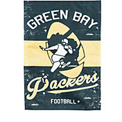 Evergreen Green Bay Packers Vintage Garden Flag