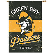Evergreen Green Bay Packers Vintage House Flag