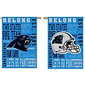 Evergreen Carolina Panthers Fan Rule House Flag