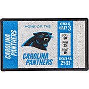 Evergreen Carolina Panthers Turf Mat