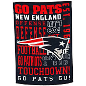 Evergreen New England Patriots Fan Rule Garden Flag
