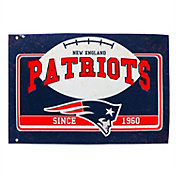 Evergreen New England Patriots Linen Estate Flag