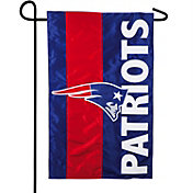Evergreen New England Patriots Embellish Garden Flag