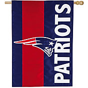 Evergreen New England Patriots Embellish House Flag