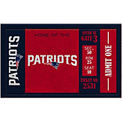Evergreen New England Patriots Turf Mat