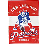 Evergreen New England Patriots Vintage Garden Flag
