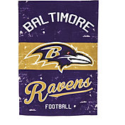 Evergreen Baltimore Ravens Vintage Garden Flag