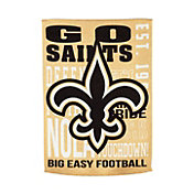 Evergreen New Orleans Saints Fan Rule House Flag