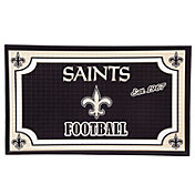 Evergreen New Orleans Saints Embossed Door Mat
