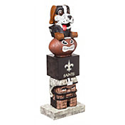 Evergreen New Orleans Saints Tiki Totem