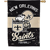 Evergreen New Orleans Saints Vintage House Flag