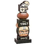 Evergreen New Orleans Saints Vintage Tiki Totem